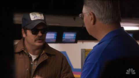 "Parks & Recreation - ""Bowling for Votes"""