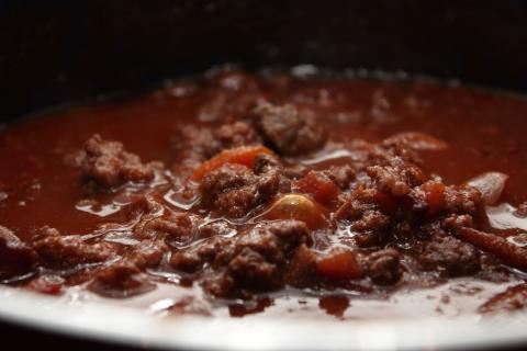 Bolognese pasta sauce
